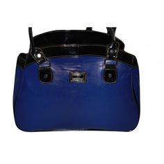 Pure Leather Women s Hand Bag (Blue)(BW009HBB)