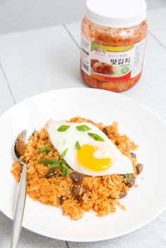 Kimchi Fried Rice with Beef 2   The Missing Lokness