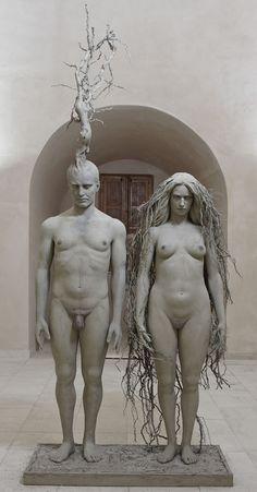 One with nature - Sculptures Giuseppe Agnello -Blog Graphiste / Sculptures, photos, Ver & Vie….
