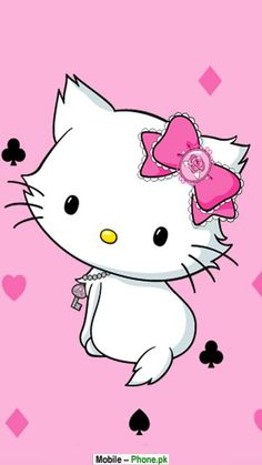 charmmy kitty wallpaper in The Charmmy Kitty Club Sanrio Hello Kitty, Sanrio Wallpaper, Hello Kitty Wallpaper, Chevron Wallpaper, Mobile Wallpaper, Hello Kitty Bedroom, Hello Kitty Imagenes, Gata Marie, Kitty Images