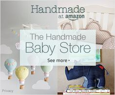 Yes Please!!! <3 so stinking cute!!! Handmade  baby nursery decorations! perfect baby shower gifts... for myself =) lol