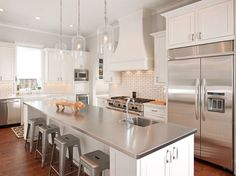 5 Stainless Sharp kitchen countertops material. kitchen countertop.