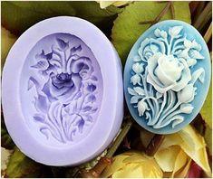 Mini Rose / Flower Design Silicone Mold
