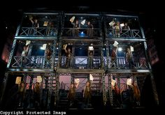 """Set Design for """"Newsies the Musical"""""""
