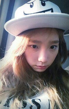 SNSD Taeyeon selca #SNSD #Taeyeon
