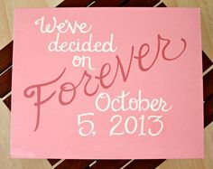 Custom Scripture or Quote Painting - 16X20 Canvas via Etsy
