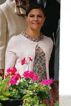 Swedish Crown Princess Victoria attends her 38th Birthday celebrations of Crown Princess Victoria of Sweden on July 14, 2015 in Oland, Sweden.