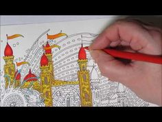 Coloring Book Dromenvanger By Tomislav Tomic Fisch Mit Schloss Fish With A Castle Youtube Wenn Du Mal Buch Ausmalen Prismacolor