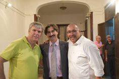 Con Antonio Jose Rodriguez García y Quique Artiles dos amigos y estupendos colaboradores intrépidos e imprevisibles con sus fotos y vídeos que siempre logran sacarte la sonrisa.