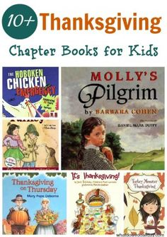 Big list of Thanksgiving themed chapter books for kids from @Erica • What Do We Do All Day?