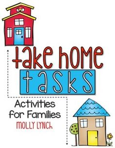 Take Home Tasks for first graders are a quick-to-set up, yet meaningful homework experience for families. First Grade Homework, Second Grade Teacher, First Grade Classroom, New Classroom, Primary Classroom, Kindergarten Teachers, Classroom Ideas, Classroom Activities, Teaching Tips