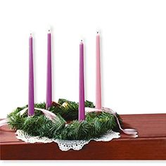 Add Christmas Traditions from Around the World to Yours All over the world, people celebrate the wonder and magic of Christmas. I grew up in Germany and now celebrate Christmas in America, so I already. Christmas In America, Christmas History, Christmas Program, Advent Wreath, Outdoor Christmas Decorations, Christmas Traditions, Seasonal Decor, Candle Holders, Wreaths