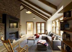 Mid Century Modern Living Room Furniture Ideas (50)