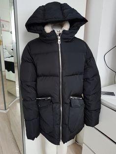 56457fb5 superbe manteau doudoune tres chaud zara noir rembourer com9 taille 13 / 14  ans