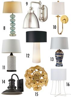 Lamps.com has a ton of amazing lighting options