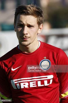 Ionut Andrei Radu of FC Internazionale looks during the Viareggio Juvenile Tournament match between FC Internazionale and Pescara Calcio on February. Stock Pictures, Stock Photos, Royalty Free Photos, February, Football, Memories, Image, Soccer, Souvenirs