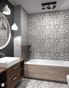 Bathroom Renovation Ideas you need to know [Complete!]- Bathroom Renovation Ideas you need to know (Complete!) Bathroom Renovation Ideas you need to know (Complete! Wood Bathroom, Grey Bathrooms, Bathroom Layout, Beautiful Bathrooms, Bathroom Interior, Modern Bathroom, Bathroom Ideas, Master Bathroom, Design Bathroom