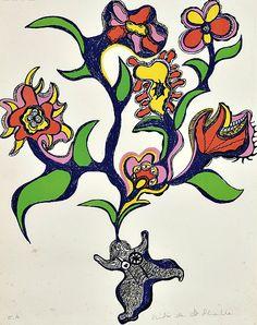 Niki de Saint Phalle (French, 1930-2002)    Nana aux Fleurs    1971