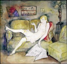 Jeanne Mammen,La Garconne,1931