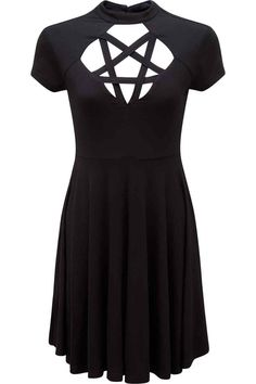 Scariel Penta Skater Dress [B]