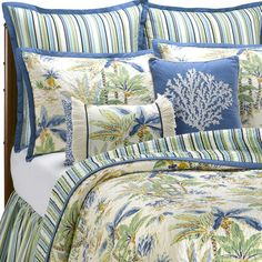 Lagoon Quilt and Accessories - Bed Bath & Beyond