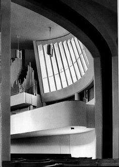 Alvar Aalto Vuoksenniska Church Imatra, Finland 1956- 1958