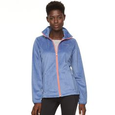 Women's Columbia Blustery Summit Fleece Jacket, Size: Medium, Drk Purple