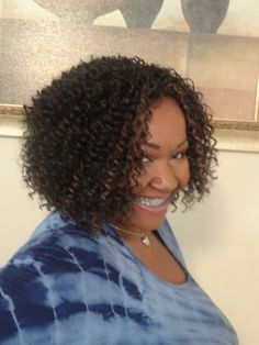 Crochet Braids Kennesaw : Crochet Weave *The hair I used was Freetress Waterwave I wanted to ...