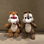 Ravelry: Chip N' Dale pattern by Megan Kreiner