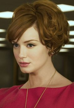 Love Joan's hair in this shot ('Mad Men')