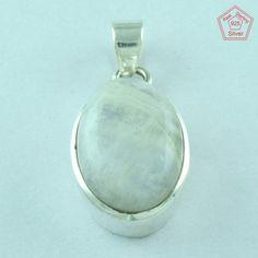 AMAZING DESIGN !! Rainbow Moon Fine Jewelry 925 Sterling Silver Pendant P2374 #SilvexImagesIndiaPvtLtd #Pendant