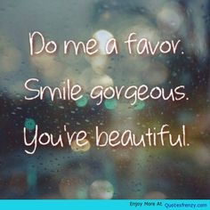Encouragement Love Beautiful Smile Girl Quote -