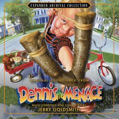 DENNIS THE MENACE: Music by Jerry Goldsmith. Expanded/Remastered limited edition of 3000 units.
