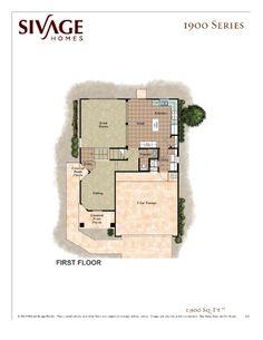 Sivage Homes 1900 Floor Plan