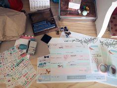 imprimible: planificador semanal