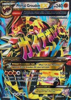 Primal Groudon EX 151/160 FULL ART - XY Primal Clash PREORDER SHIPS 2/6 #Pokemon