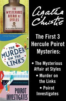 The first three of Agatha Christie