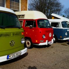 VW van party...
