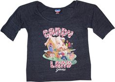 Women's Candy Land Shirt by Junk Food Junk Food Tees, Vintage Board Games, Retro Images, Candyland, Vintage Inspired, Tee Shirts, T Shirts For Women, Mens Tops, How To Wear