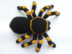 Ravelry: Creepy Cellar Tarantula pattern by Justyna Kacprzak