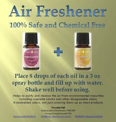 Young Living air freshener
