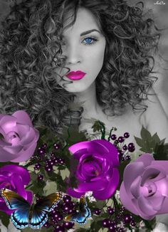 Transform Your Looks With This Advice. Women today place a very high value on beauty. A beautiful woman has it easier in life. The problem is, many women are unaware just how Gif Kunst, Kenza Farah, Color Splash Effect, Color Mixing, Color Pop, Gif Bonito, Cool Photo Effects, Splash Photography, Amazing Gifs