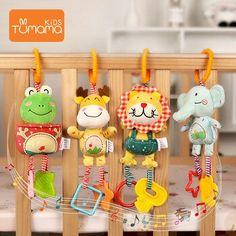 Juguete Peluche Ni/ño Beb/é Juguete Sonaja Infantil Dibujos Animados con Campana Baby Ring Toy