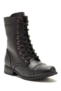 Carrini Lace-Up Short Combat Boot on HauteLook