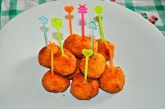 #polpettine di carote,zucca e #parmigianoreggiano