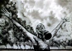 Carboncino su carta cm 50x70 2012