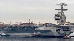 US Navy's new carrier kind of looks like a Star Destroyer from the back
