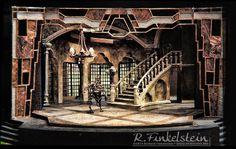 The Miser by Moliere - Set Design by Richard Finkelstein, Stage Designer