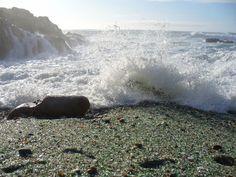 Playa de los Cristales - Laxe #Costadamorte