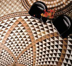 Floor Patterns, Tile Patterns, Textures Patterns, Marble Mosaic, Mosaic Art, Mosaics, Sicis Mosaic, Geometry Pattern, Pumpkin Decorating